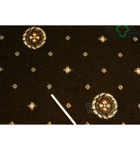 Виктория (круг) 02-0024 тёмно-коричневый