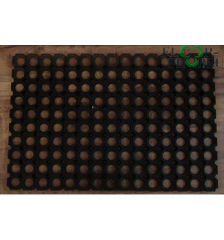 Коврик резиновый  со сквозными отверстиями 0