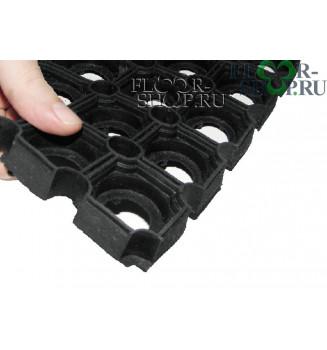 Коврик резиновый ячеистый толщиной 22мм. 1.0x1.5
