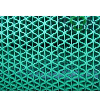 Решетка змейка зеленая ширина 0