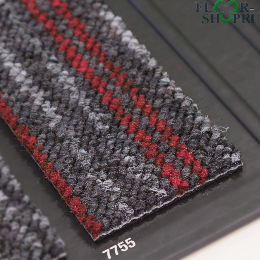 Larix 7755 серая в красную полоску