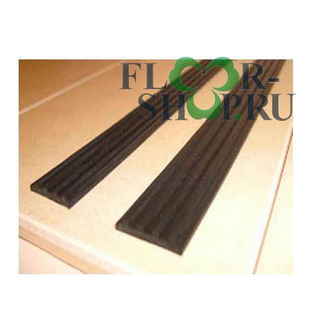профиль резиновый рифленый черный