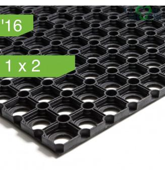 Коврик резиновый ячеистый толщиной 16 мм, 1x2 м.