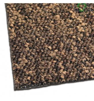 ковровая плитка Madrid 93 коричневого цвета