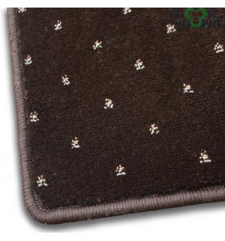 Ковровое покрытие София 0024 темно коричневое