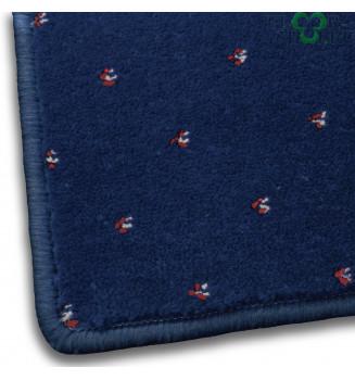 Ковровое покрытие София 0038 синее
