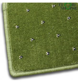 Ковровое покрытие София 0033 зелёное