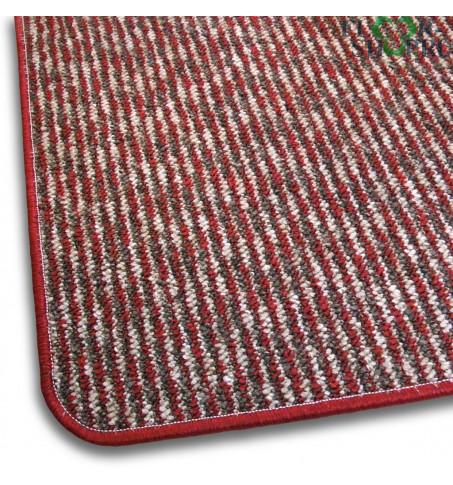 Ковролин Rio Design 8656 красно-серый